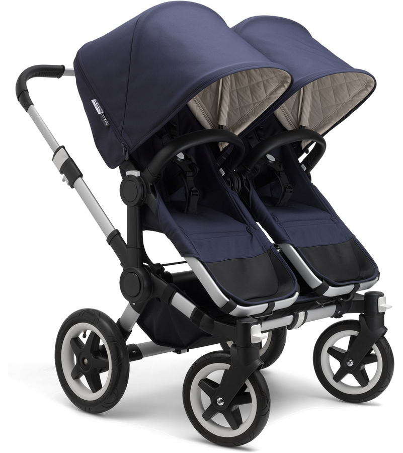 Bugabooo donkey classic plus twins strollers - Navy